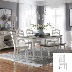 Magnolia Manor Dining Room Set with Bench