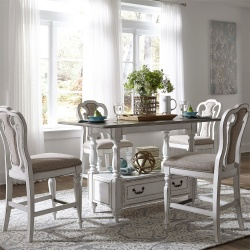 Magnolia Manor Formal Counter Height Dining Room Set