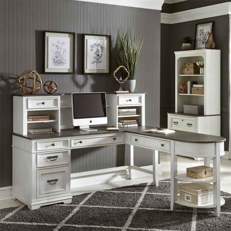 Allyson Park L Shaped Desk Set