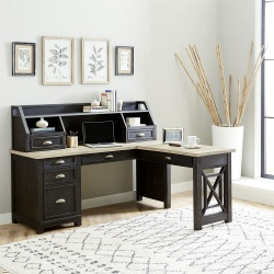 Heatherbrook L-Shaped Desk