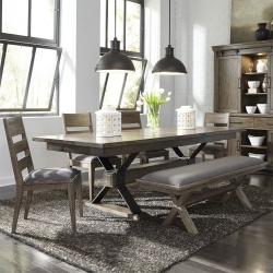 Sonoma Road Dining Room Set with Bench