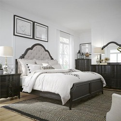 Chesapeake Bedroom Set with Upholstered Headboard