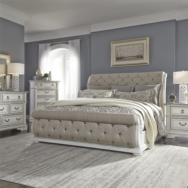 Liberty 520 Br Abbey Park Bedroom Set With Upholstered