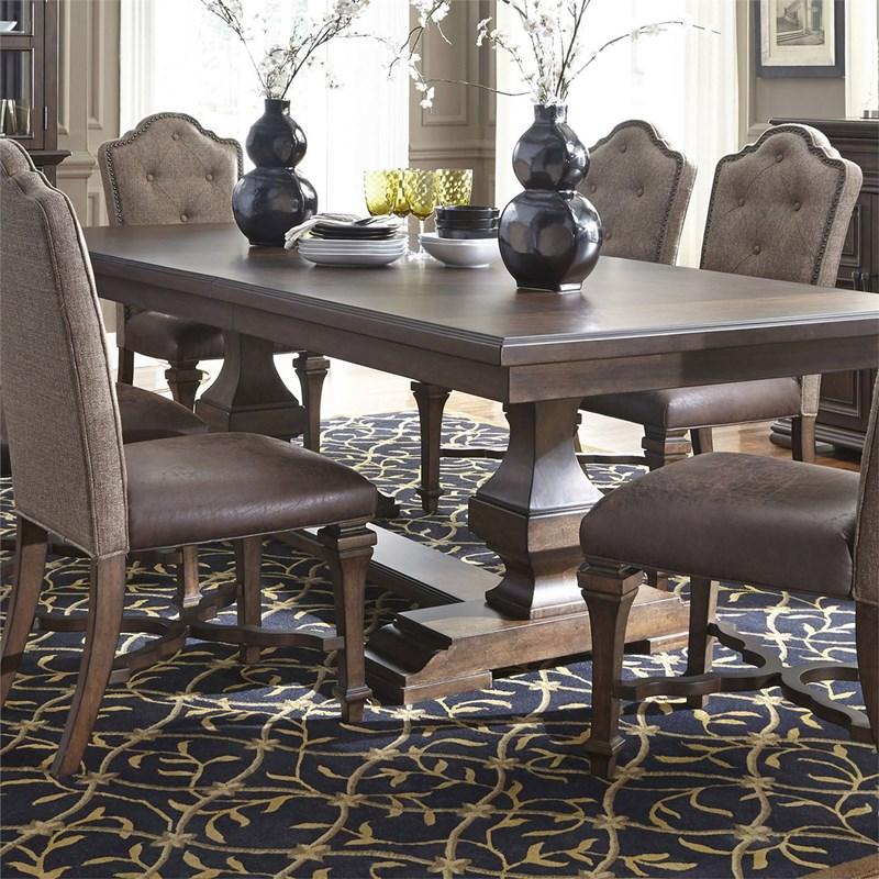 Homey Design | HD-8089-Long Belda Formal Dining Room Set ...