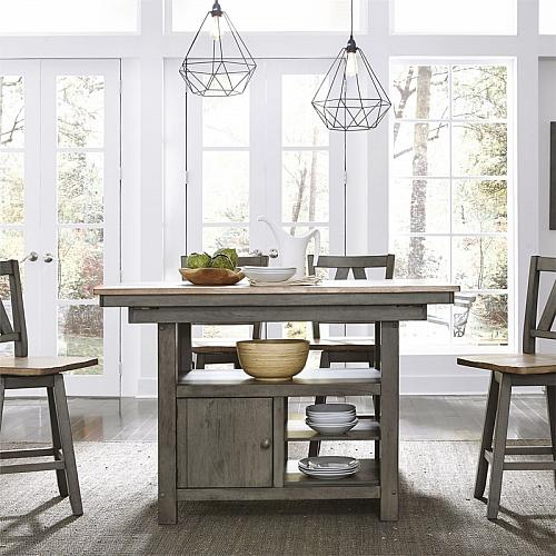 Lindsey Farm Counter Height Dining Room Set