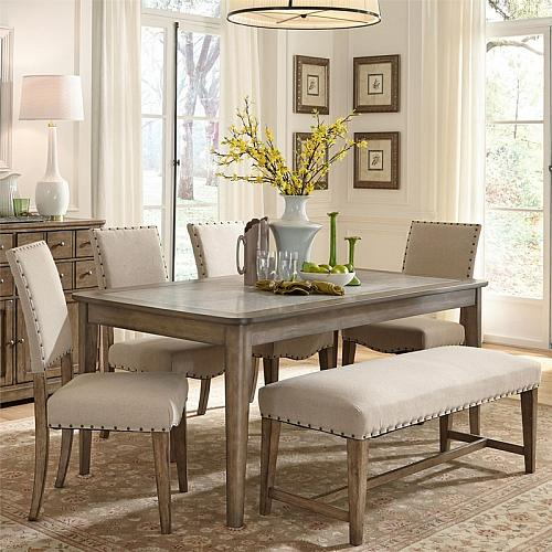 Weatherford Dining Room Set with Bench