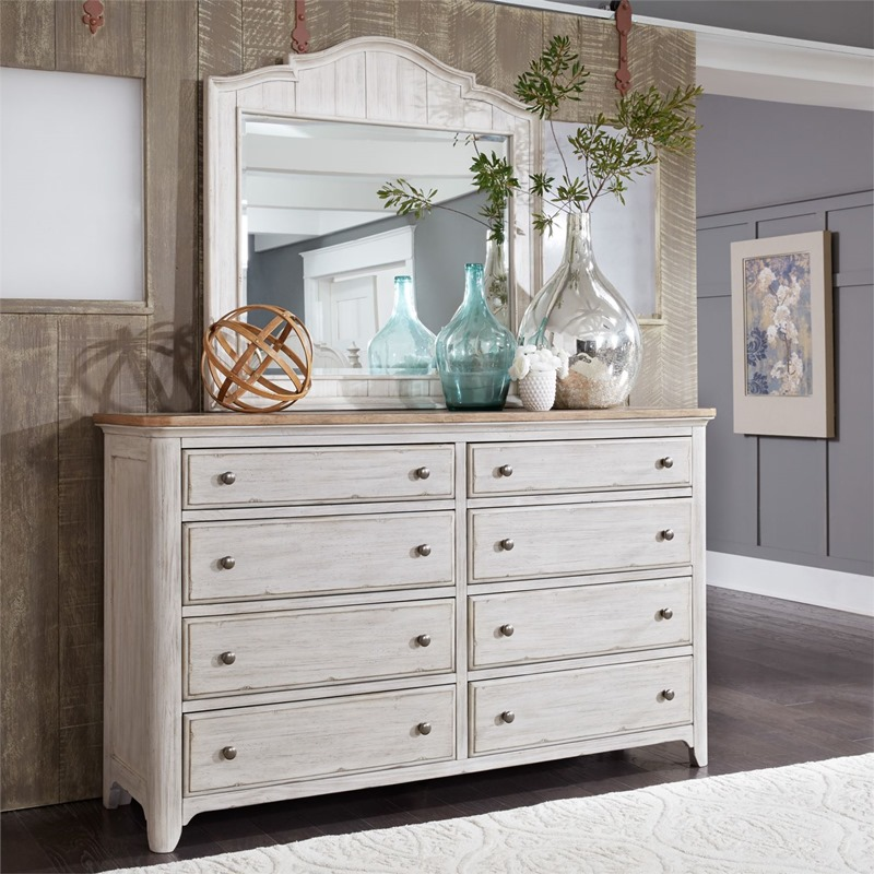 Liberty 652 Br Qps Farmhouse Reimagined Bedroom Set With
