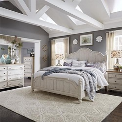 Farmhouse Reimagined Bedroom Set  with Poster Bed
