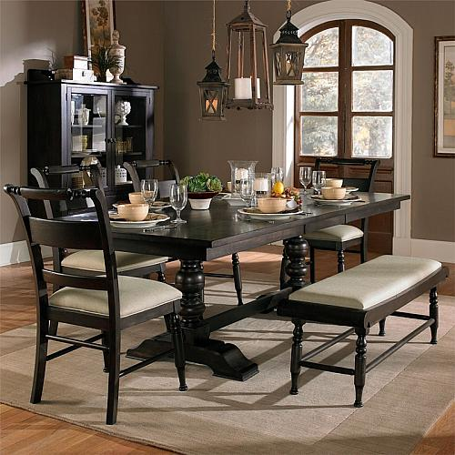 Whitney Dining Room Set with Bench
