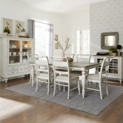 Whitney Dining Room Set with Leg Table