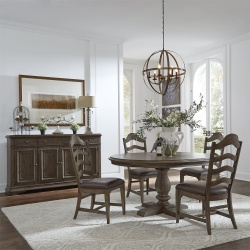 Homestead Round Dining Room Set
