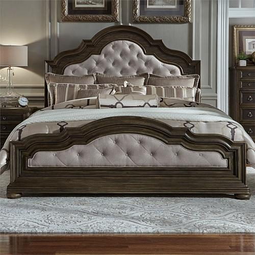 Valley Springs Bedroom Set with Upholstered Bed