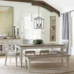 Heartland Dining Room Set with Bench