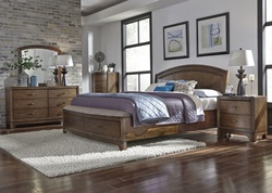 Avalon III Bedroom Set with Storage Bed
