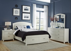 Avalon II Bedroom Set with Storage Bed