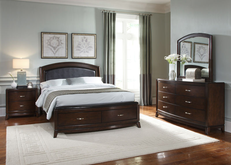 Avalon Bedroom Set with Storage Bed