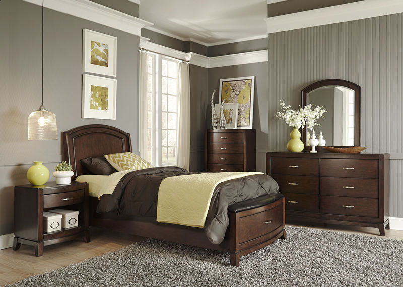 dallas designer furniture inglewood bedroom set in cherry