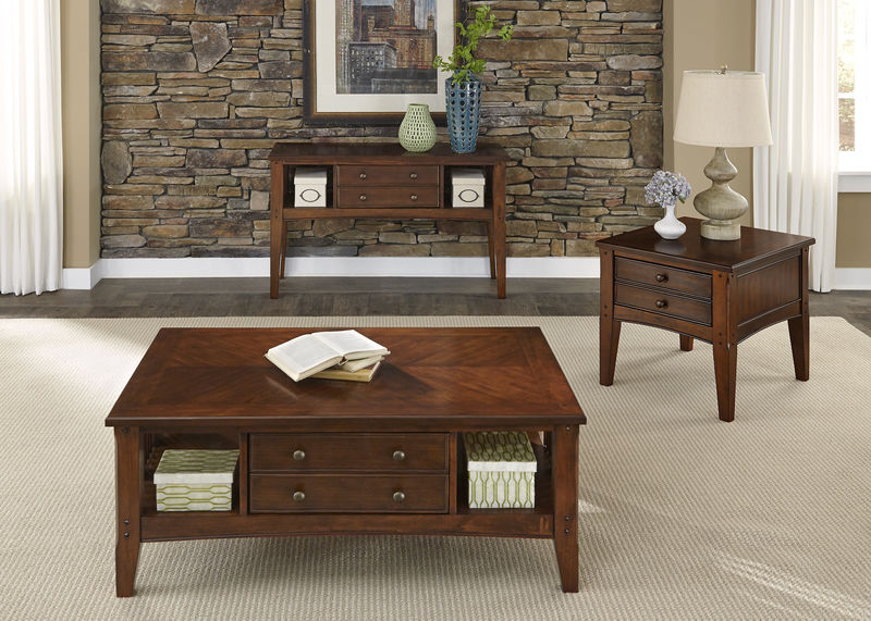 Cherryview Coffee Table Set