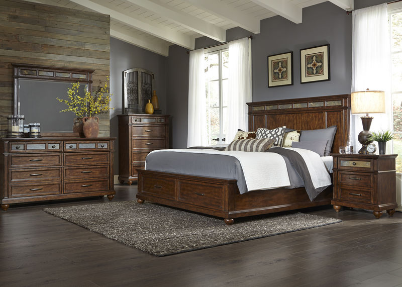 Coronado Bedroom Set with Storage Bed