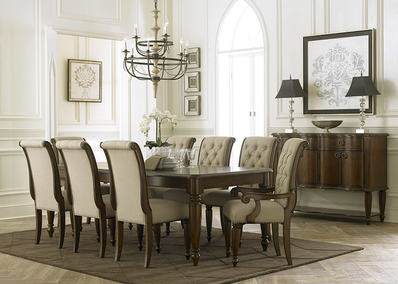 Dallas designer furniture heather formal dining room set Dining room furniture dallas