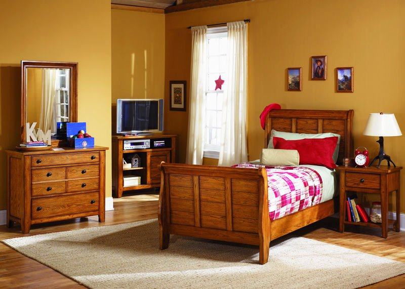 Grandpa's Cabin Youth Bedroom Set