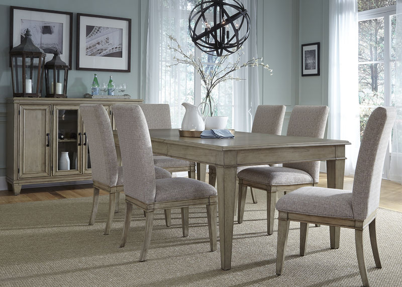 Grayton Grove Dining Room Set with Upholstered Chairs