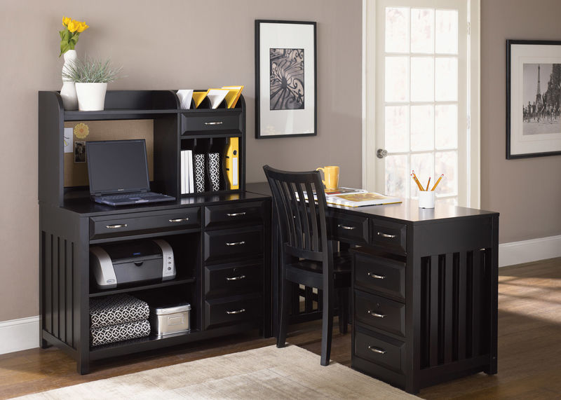 Hampton Bay Home Office Set in Black