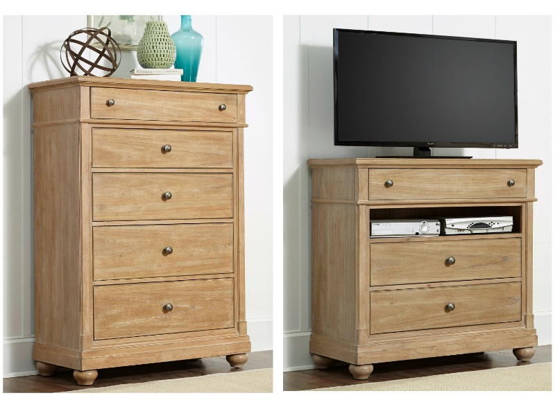 Harbor View Bedroom Set with Sleigh Bed