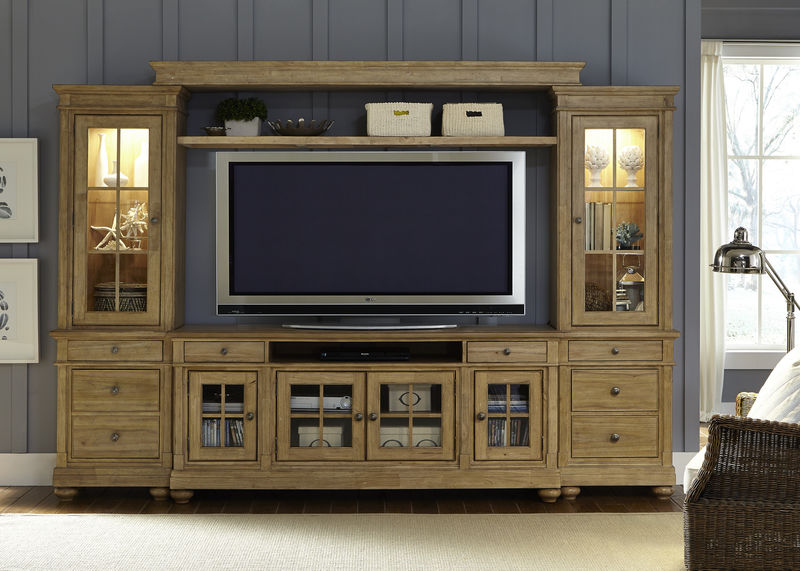 Harbor View Entertainment Center in Sand
