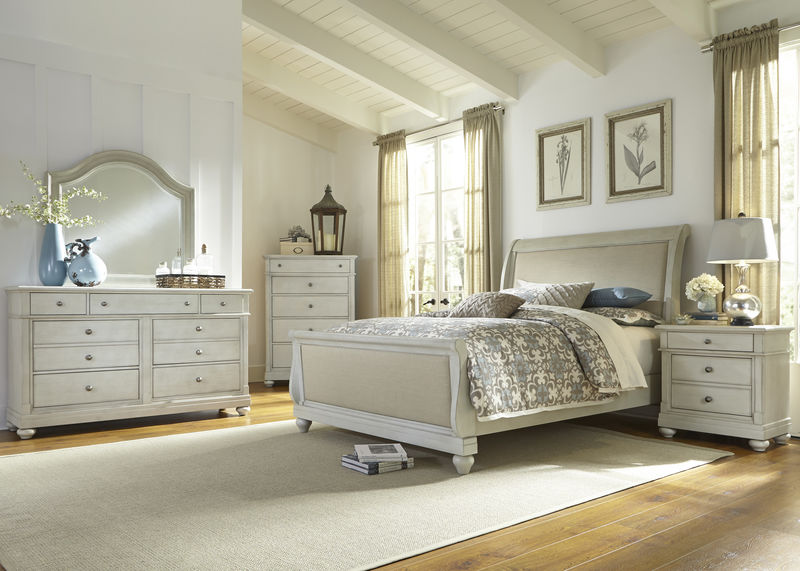 Harbor View III Bedroom Set with Sleigh Bed