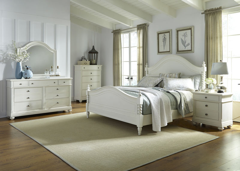 Harbor View II Bedroom Set with Poster Bed