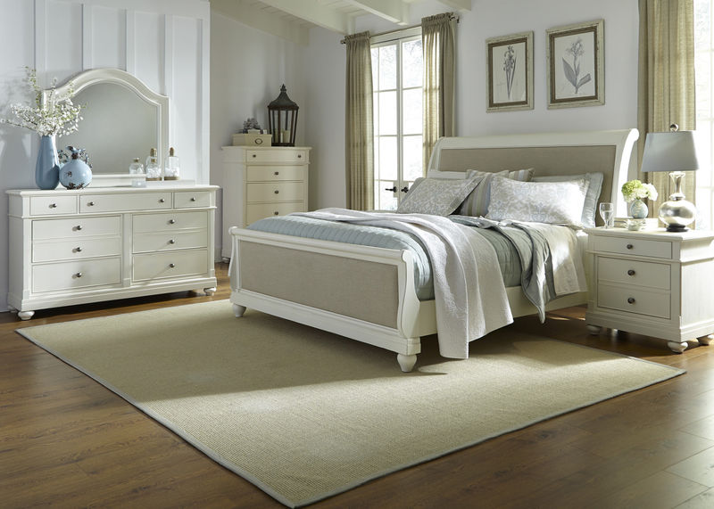 Harbor View II Bedroom Set with Sleigh Bed