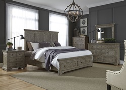 Highlands Bedroom Set with Storage Bed
