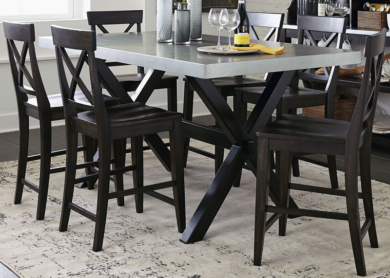 Keaton II Counter Height Dining Room Set