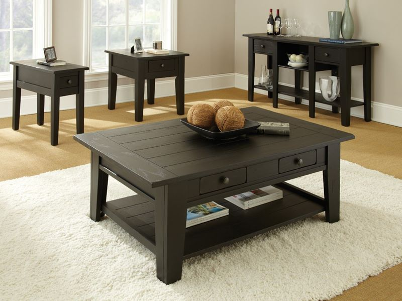 Liberty Coffee Table Set in Black