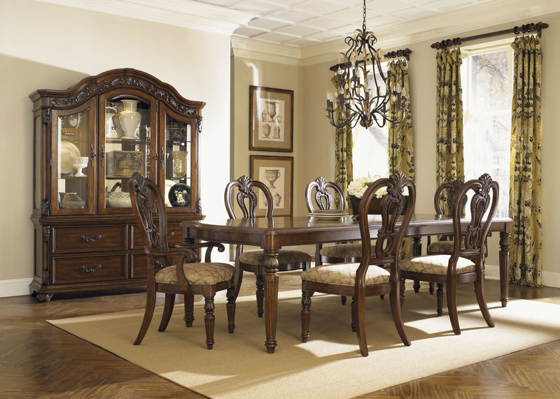 designer furniture orleans formal dining room set in white wash