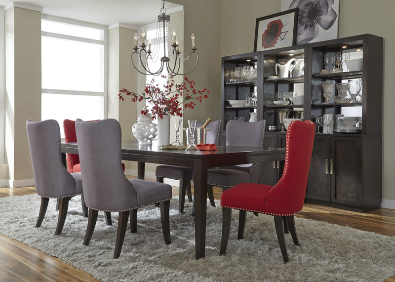 Dallas designer furniture cayden formal dining room set Dining room furniture dallas