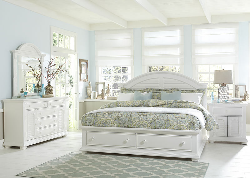 Summer House Bedroom Set with Storage Bed