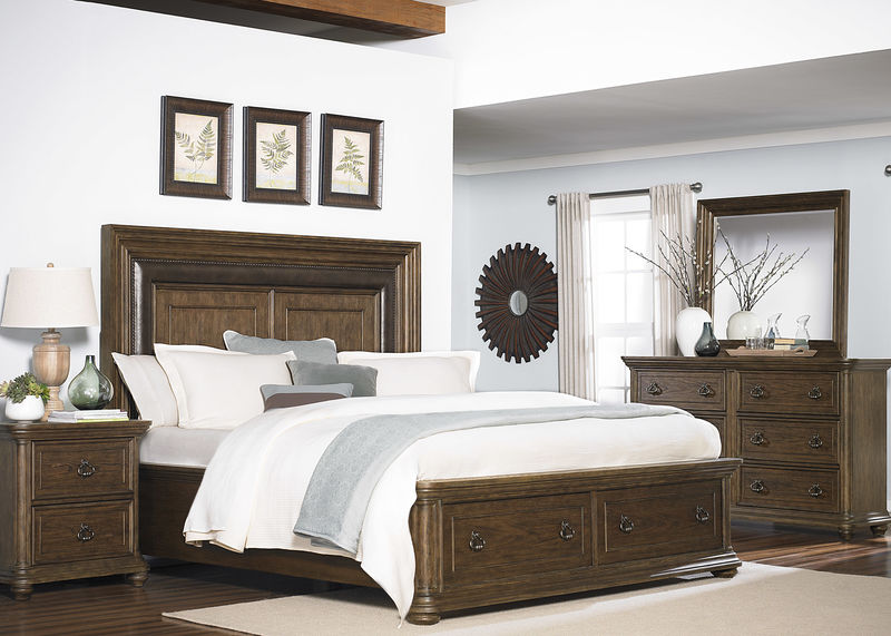 Twin Lakes Bedroom Set with Storage Bed