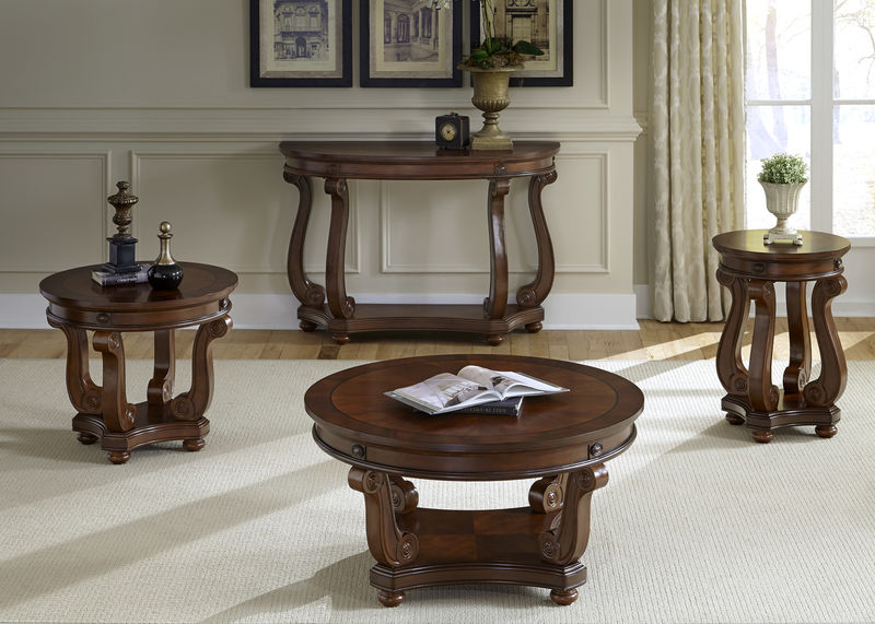 Victorian Manor Coffee Table Set