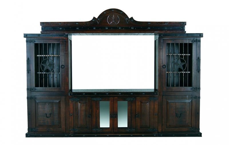 Gran Hacienda Rustic Entertainment Center