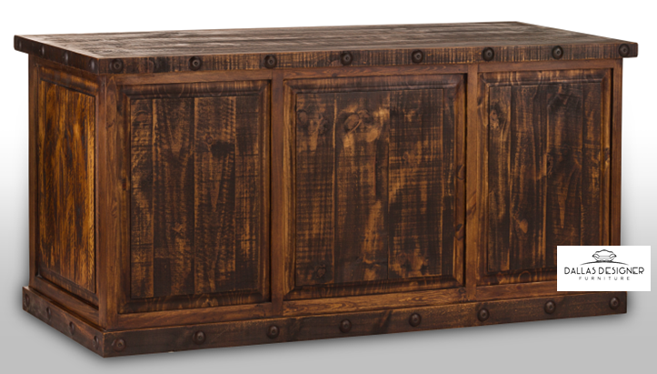 Laredo Rustic Executive Desk