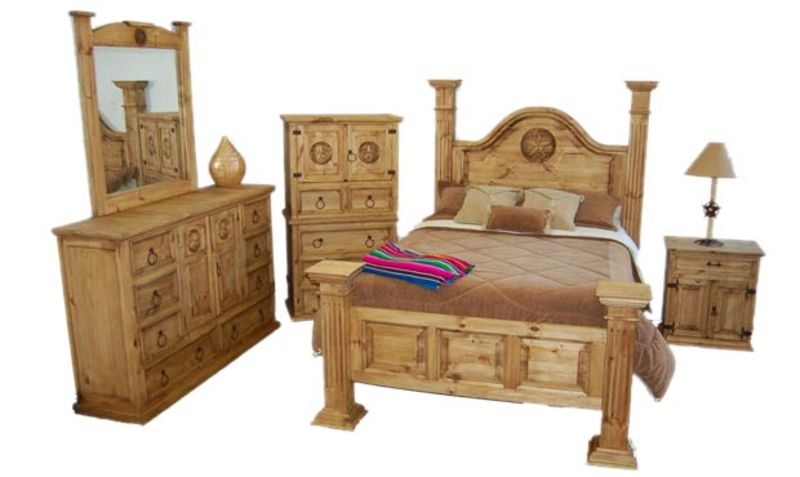 Big Sky Rustic Bedroom Set