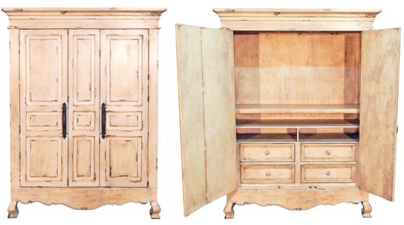 Heirloom Rustic Armoire