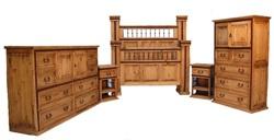 Hierro Rustic Bedroom Set
