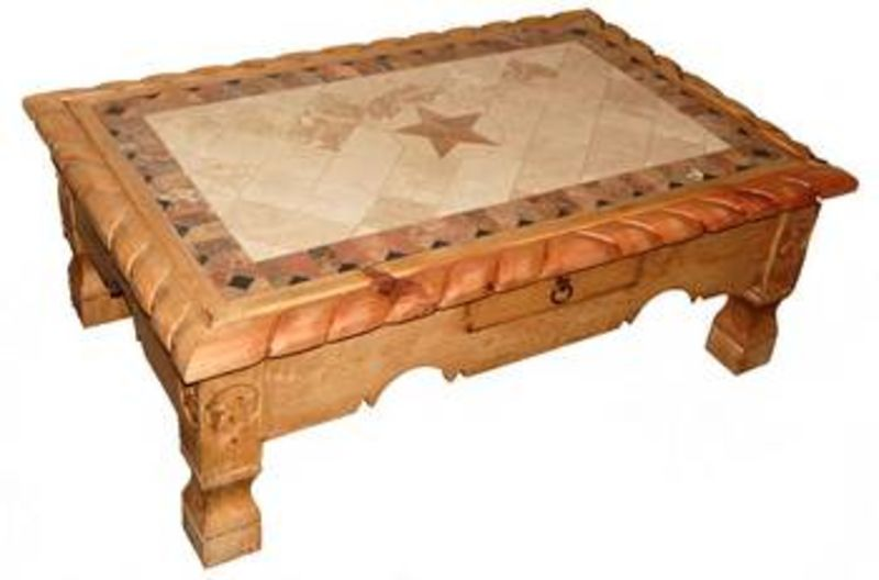 Natural Rope Star and Marble Rustic Coffee Table Set ...  sc 1 st  Dallas Designer Furniture & Dallas Designer Furniture | Natural Rope Star and Marble Rustic ...