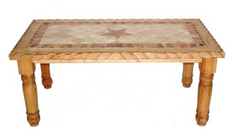 Marble Star Rustic Dining Room Set