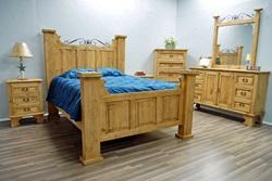 Hacienda Rustic Bedroom Set