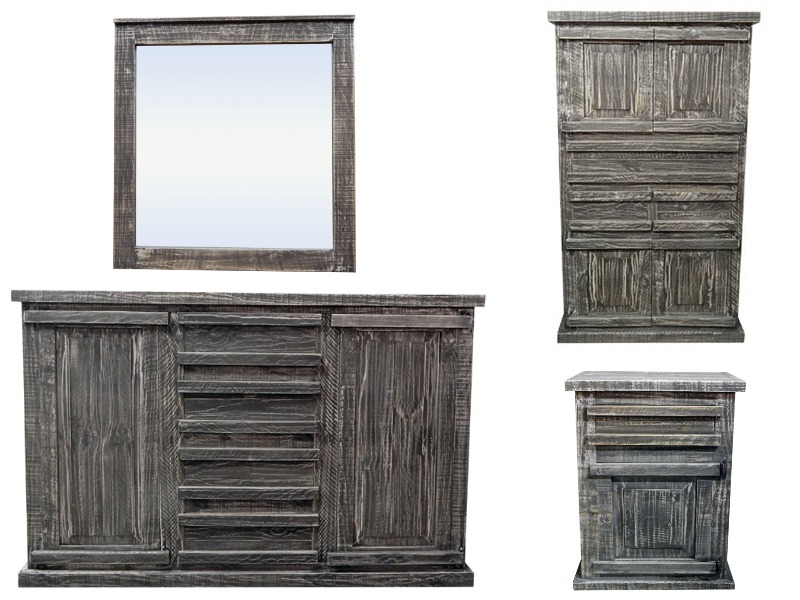 Tejas Rustic Bedroom Set