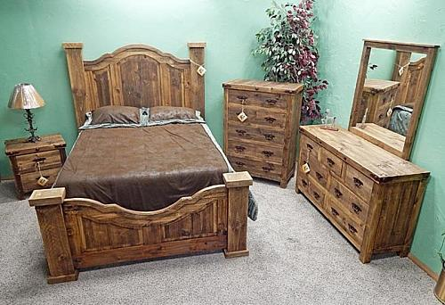 Tejas Reclaimed Rustic Bedroom Set